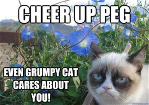 Cheer Up Cat Meme - cheer up grumpy cat