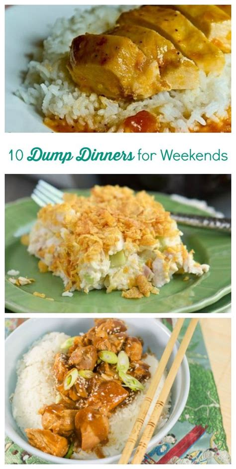 easy comfort food dinner dump dinners dinner and weeknight dinners on pinterest