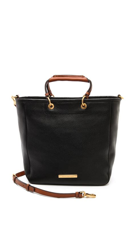 Marc By Marc Softy Messenger by Marc By Marc Softy Saddle Tote Black In Black Lyst