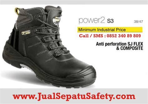 Sepatu Safety Jogger Jumper S3 distributor sepatu safety shoes jogger power 2 di
