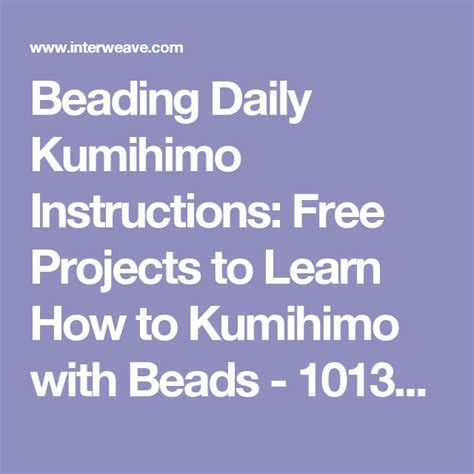 beading daily 81 best images about kumihimo on flats