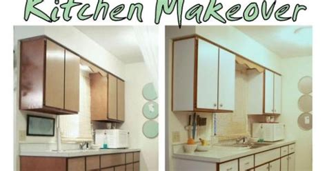 contact paper cabinets before and after previous kitchen makeover with contact paper before and