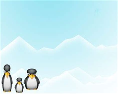 kid friendly powerpoint templates penguin powerpoint on