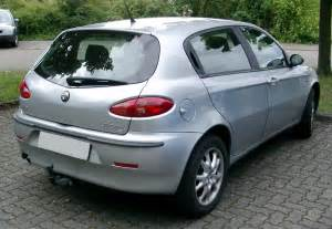 Alfa Romeo 147 2 0 Alfa Romeo 147 2 0 2000 Auto Images And Specification
