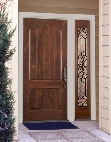 wood front door design home wood