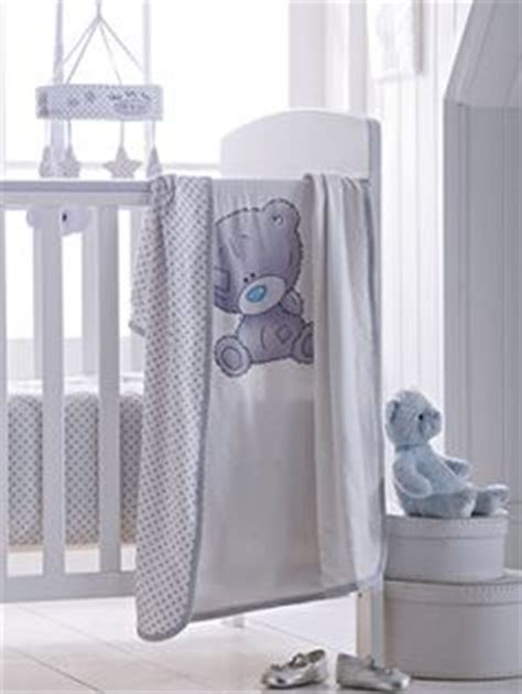Tiny Tatty Teddy Quilt And Bumper Set by Tiny Tatty Teddy Quilt And Bumper Set I Want No Need
