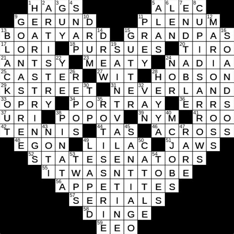 usa today crossword answers may 22 2015 0214 18 ny times crossword answers 14 feb 2018 wednesday