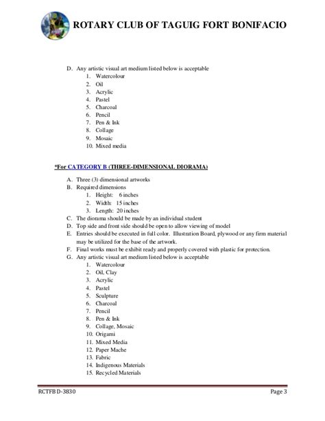 design competition guidelines art peace 2013 2 d 3 d competition rules regulations
