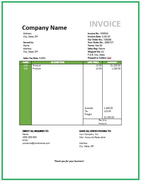 Travel Invoice Template travel invoice sle