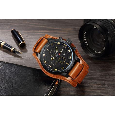 Jam Tangan Arloji Pria A135 curren jam tangan analog pria mk54 yellowish brown jakartanotebook