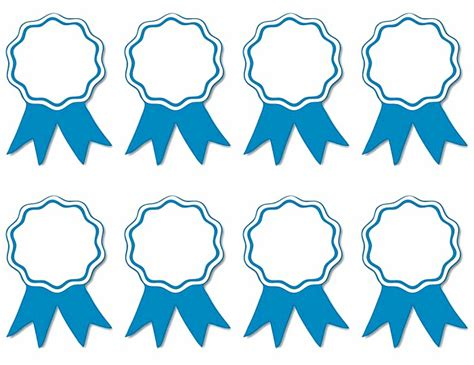award ribbon template printable photo light blue ribbon blanks blank award ribbons