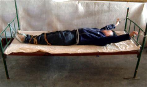 tie her to the bed practitioner ms li xiuzhen cruelly tortured at jinan women s prison photo re