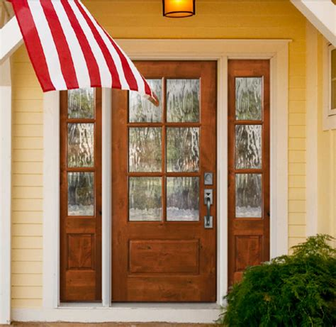 Cottage Style Exterior Doors Knotty Alder 6 Lite Cottage Style Entry Door Unit 36 X80 Quot Ex 1340 Ksr Door And Mill Comany