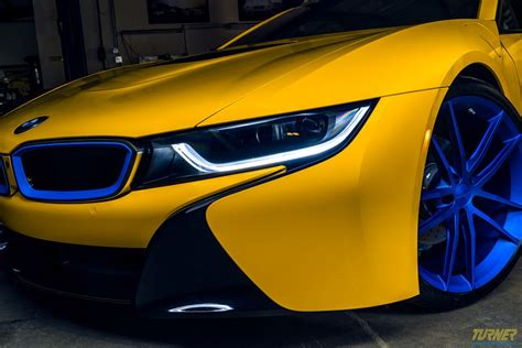 bmw i8 modified colorful modified bmw i8 by turner motorsport is up for
