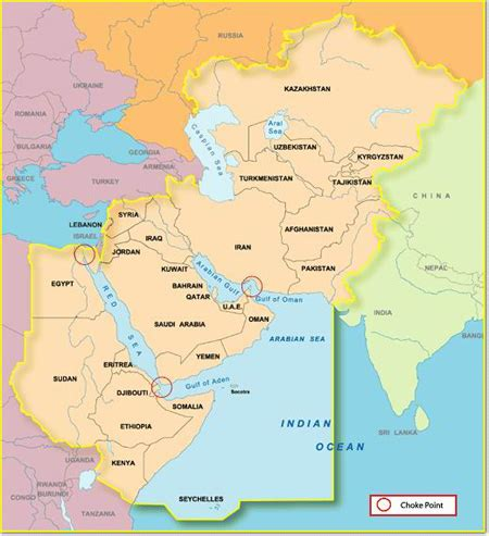 Persian Gulf On World Map / dyrevelferd.info