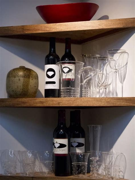 Corner Bar Shelf by Best 25 Corner Wine Rack Ideas On Pallet Wine Racks Corner Wine Bar And Corner