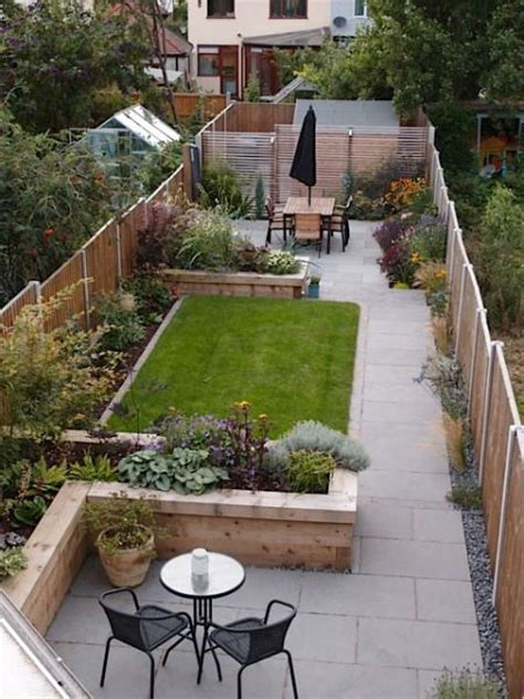 125 Best Images About Gardening Small Garden Ideas That Small Narrow Backyard Ideas