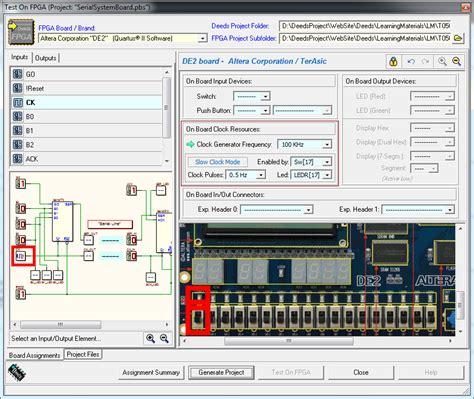 unige test ingresso d dcs finestra test on fpga