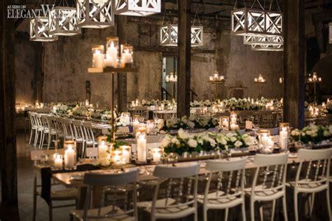 modern indoor garden wedding in montreal elegantwedding ca rustic industrial wedding ideas elegantwedding ca