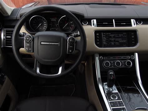 2014 Range Rover Sport Interior by 2014 Range Rover Sport V6 Hse Cars Photos Test Drives