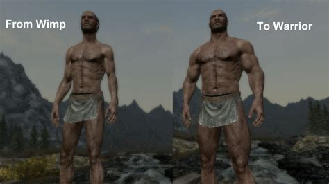 modded muscle pumping iron dynamic muscle growth at skyrim nexus