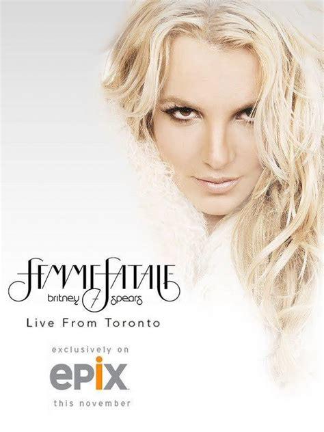 Dvd Live The Femme Fatale Tour live the femme fatale tour tv 2011