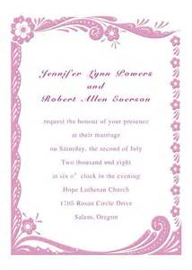 pink flower border wedding invitations ins291 ins291 0 00 invitation store