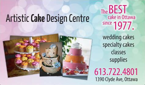 Cake Decorating Supplies In Toronto by Artistic Cake Design Centre Nepean On 1390 Clyde Ave