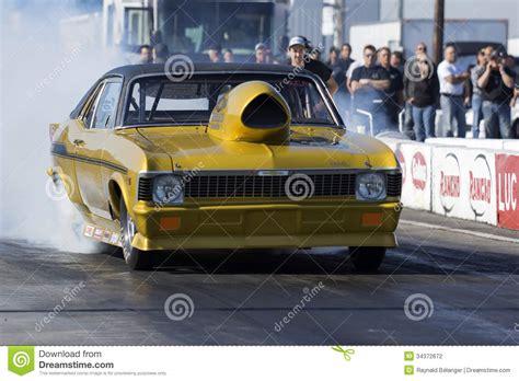 nova drag car editorial photography image  fuel asphalt