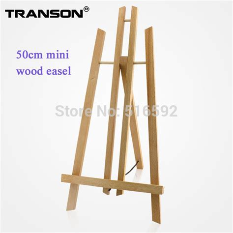 Transon 50cm Artist laptop beech wooden Easel, mini wood