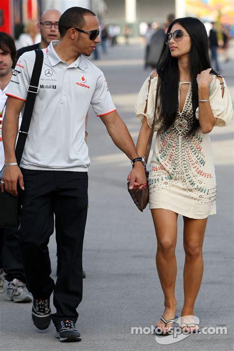 Lewis Hamilton, McLaren Mercedes, Nicole Scherzinger