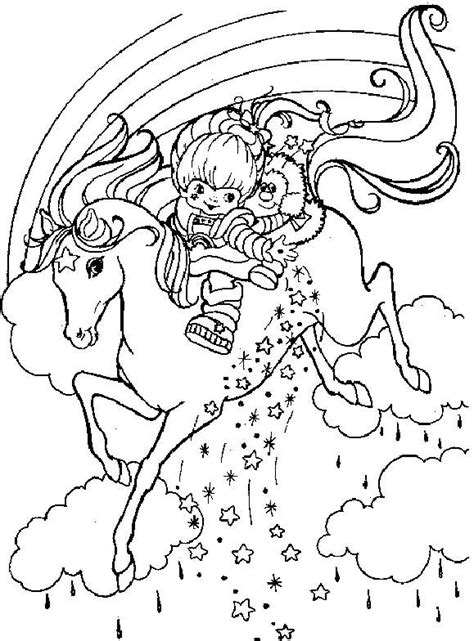 Rainbow Bright Coloring Pages 114 Best Images About Horse Activities For Kids On by Rainbow Bright Coloring Pages