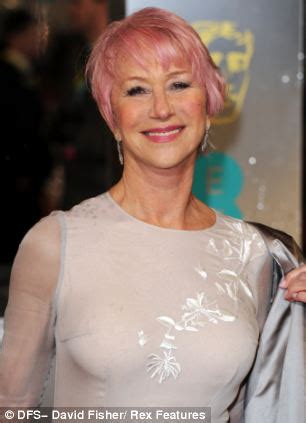 older women with pink hair dame helen mirren s pink hair how dyeing my hair like her
