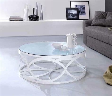 Superbe Fabriquer Table Basse Ronde #7: Id%C3%A9e-design-table-basse-ronde-plateau-verre.jpeg