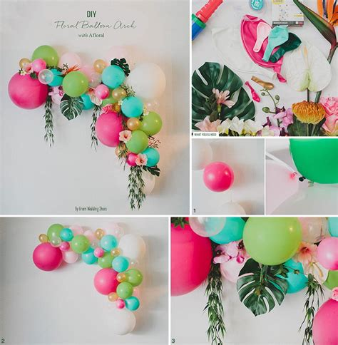 Floral balloon arch diy floral designs at afloral com