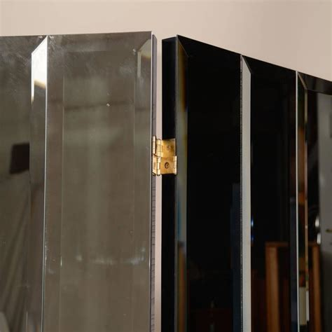 Mirror Room Divider Henredon Beveled Mirror Room Divider For Sale At 1stdibs
