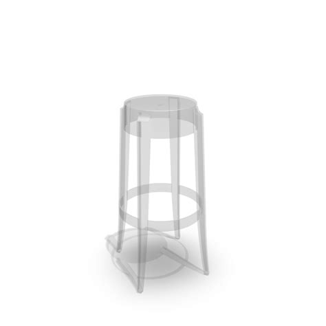 charles ghost bar stool design and decorate your room in 3d
