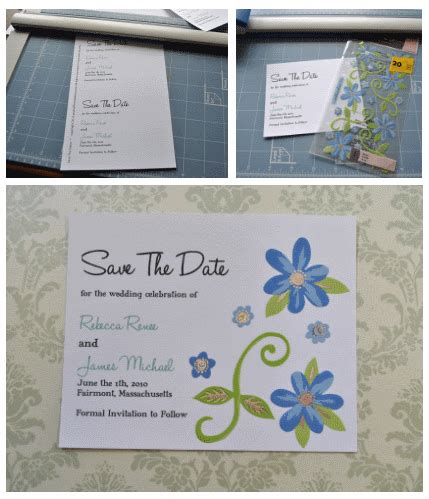 diy save the date templates free jennefer s wish you happy married god