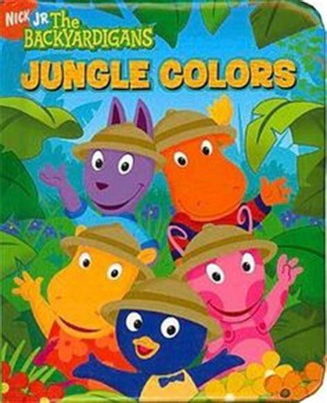 Backyardigans Jungle Colors Is For Adventure The Backyardigans Series Sebastian