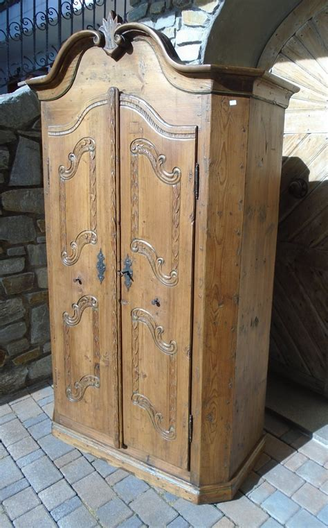 armadio legno naturale armadio legno naturale prov baviera antichit 224 evelina