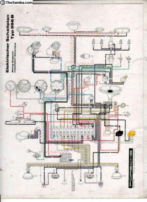 porsche 356c wiring diagram porsche get free image about