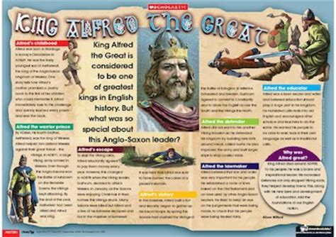 biography posters ks2 king alfred the great poster biography primary ks2