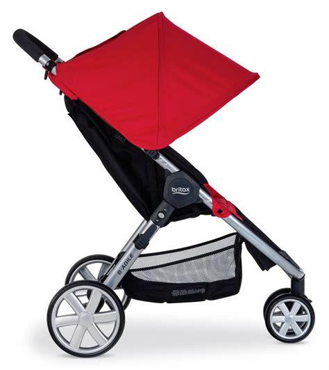 Britax B Agile Stroller Recline by Britax B Agile 3 Stroller In