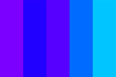 bright blue color shades of bright blue and also purple color palette