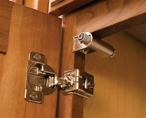 Automatic Cabinet Door Closer Adjusting A Automatic Door Closer Hinge The Decoras Jchansdesigns