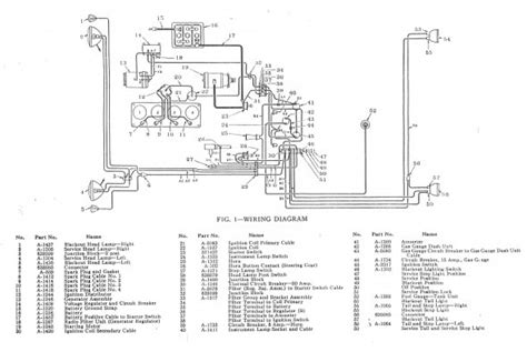 jeep cj wiring diagram