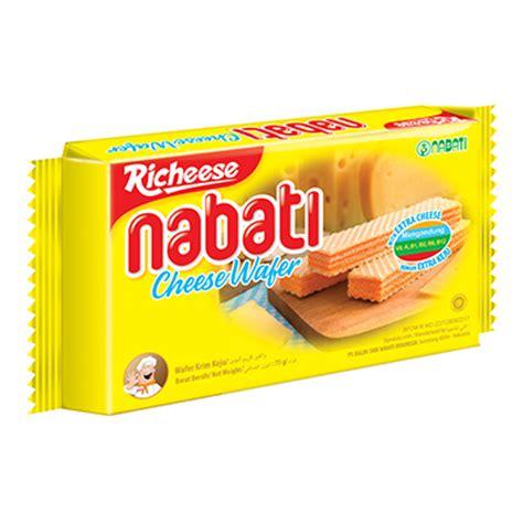 Richeese Nabati Wafer 50gram richeese nabati nabati snack