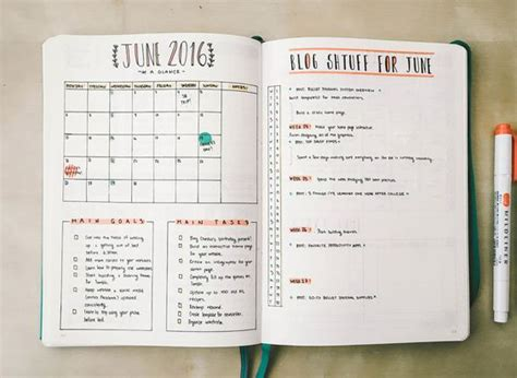 homework design journal 16 bullet journal monthly layout ideas to keep you on