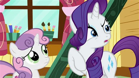my little pony sofa image rarity asks if sweetie belle has a fainting couch