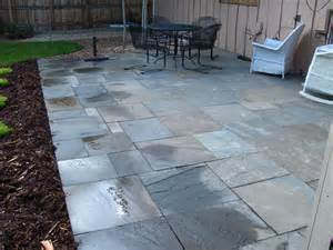 pennsylvania bluestone cut patio glacier view